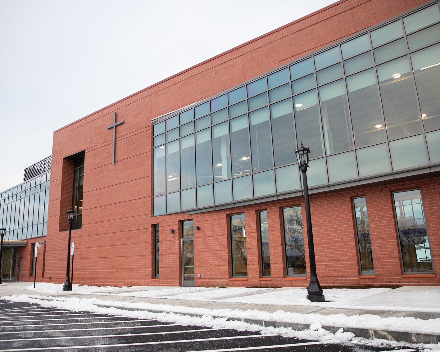 Joanne Chouinard-Luth Recreation and Wellness Center Opens at Holy Cross
